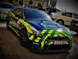 La última adquisición de la policía portuguesa es este Nissan GT-R: transporta órganos
