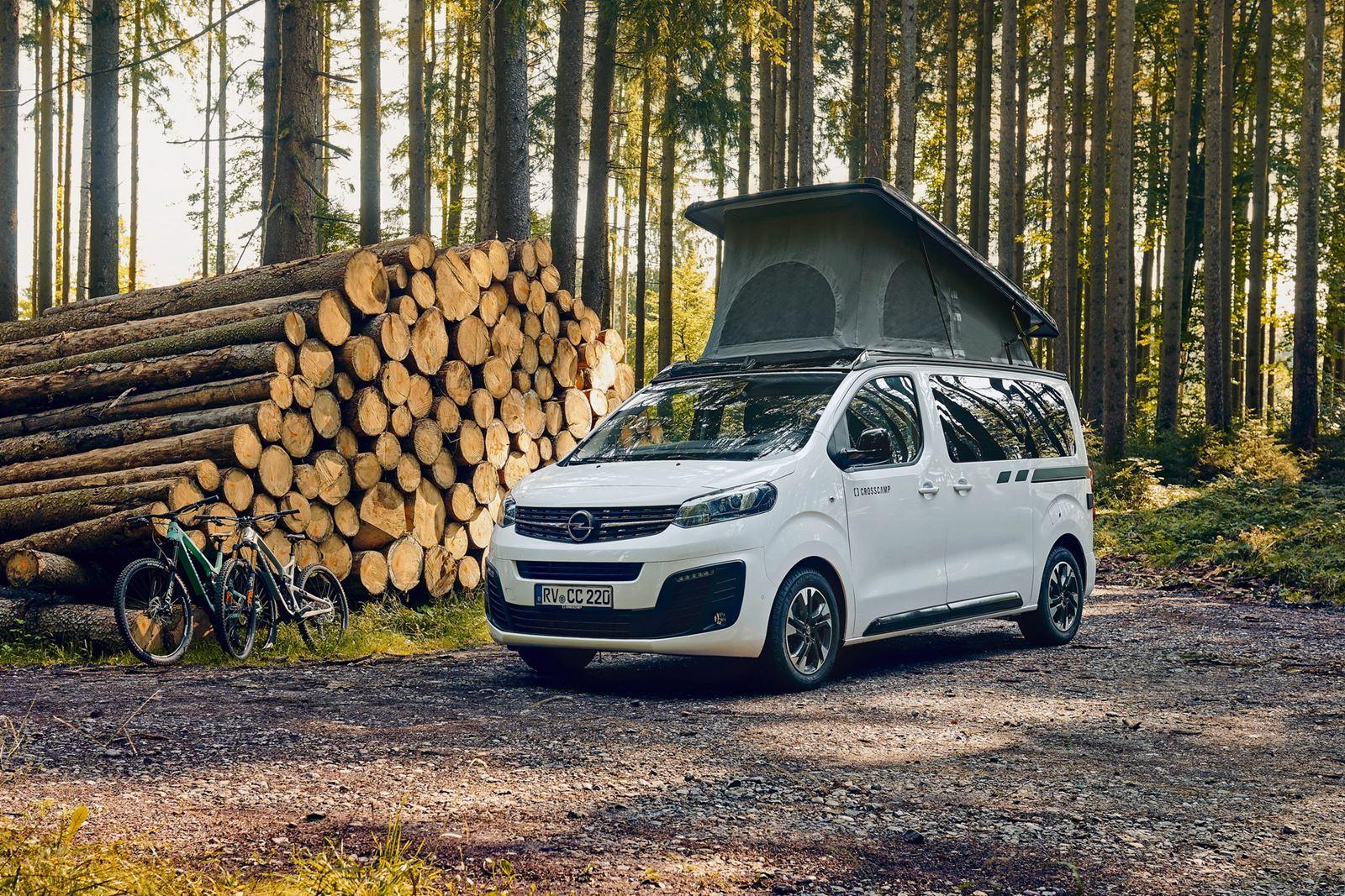 Opel Zafira Life Crosscamp