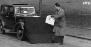 Los 'Pedestrian Catcher' o 'recoge peatones': así se querían evitar atropellos en el Siglo XX