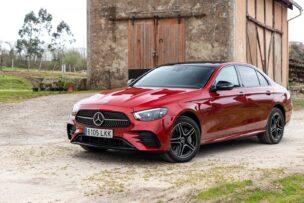 Prueba Mercedes-Benz E 300 e 4MATIC Berlina: referencia en confort, pero existiendo un diésel...