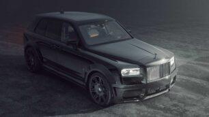 Hasta 707 CV de potencia para el salvaje Rolls-Royce Cullinan Black Badge de Spofec