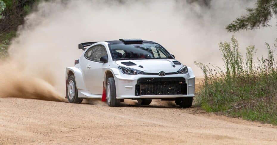 El Toyota GR Yaris AP4 da la cara y quiere hacer morder el polvo a sus rivales