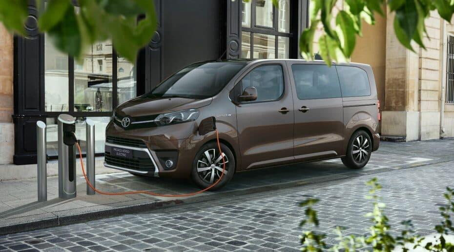 Aquí tienes los precios del Toyota Proace Verso Electric