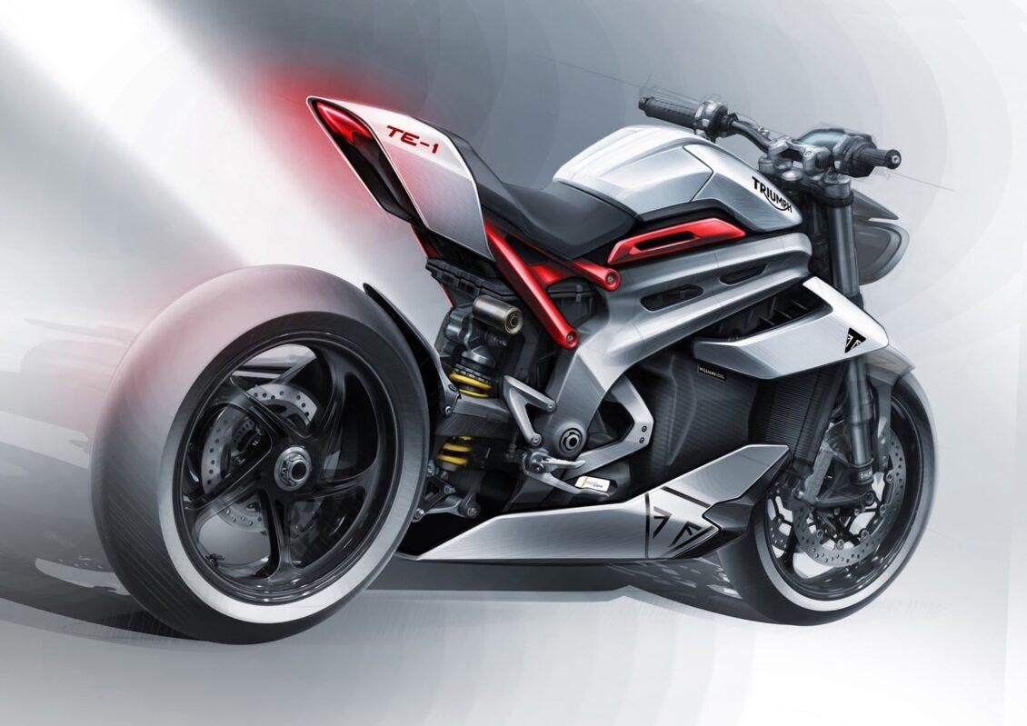 Triumph sigue trabajando en su motocicleta eléctrica con 178 CV: cada vez más cerca