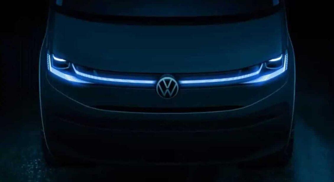 Aquí tienes un anticipo del Volkswagen T7: pinta muy bien