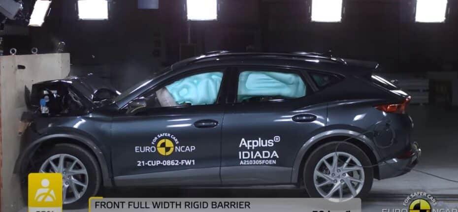 Última tanda de pruebas de choque Euro NCAP: el CUPRA Formentor da la talla junto al resto