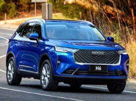 Así es el nuevo Haval H6 para los mercados internacionales: Ojo al avance y por 20.000 €