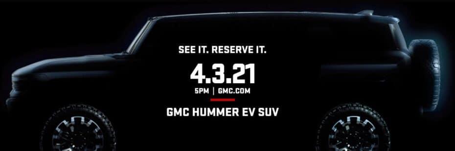 El GMC Hummer EV SUV ya tiene fecha: apúntate el 3 se Abril