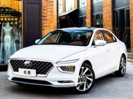 Arranca la comercialización en China del nuevo Hyundai Mistra, un sedán muy interesante