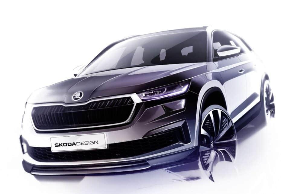 Primeros detalles del lavado de cara del Škoda Kodiaq que conoceremos en Abril