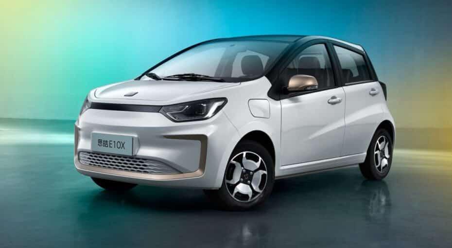 Así es el nuevo SOL E10X, un urbanita eléctrico desarrollado por JAC-VW