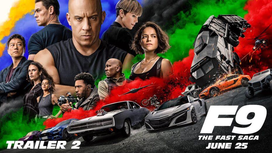 Segundo tráiler de larga duración de 'Fast & Furious 9': Locura de efectos especiales