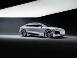Así es el Audi A6 e-tron concept: 100% eléctrico y una pintura que hará que te olvides del aire acondicionado