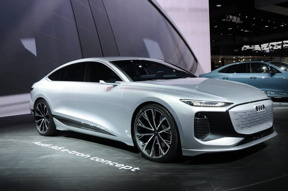 Así luce el Audi A6 e-tron concept al natural: IMPRESIONANTE