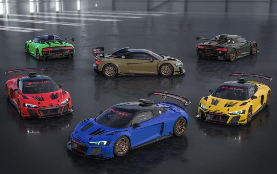 Audi R8 LMS GT2 Color Edition o cuando los cuatro aros se ponen un mono de colorines