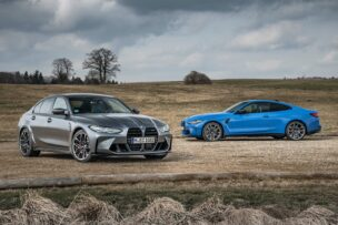 Los nuevos BMW M3 y M4 Competition con tracción total M xDrive ya tienen precio