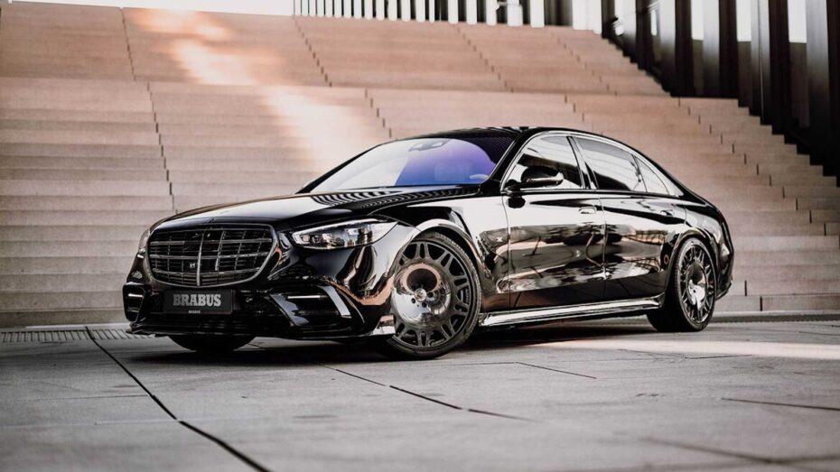 BRABUS 500: Un Mercedes-Benz Clase S siniestro y poderoso a partes iguales
