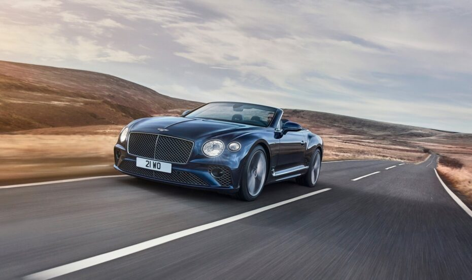 Bentley Continental GT Speed ​​Convertible: monstruoso W12 con 659 CV a cielo abierto