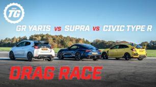 [Vídeo] Toyota GR Yaris vs. Honda Civic Type R vs. Toyota Supra: ¿Por qué 'japo' apuestas?