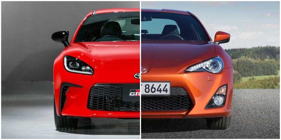 Comparación visual Toyota GR 86: ¿Realmente nos gusta más la nueva generación?