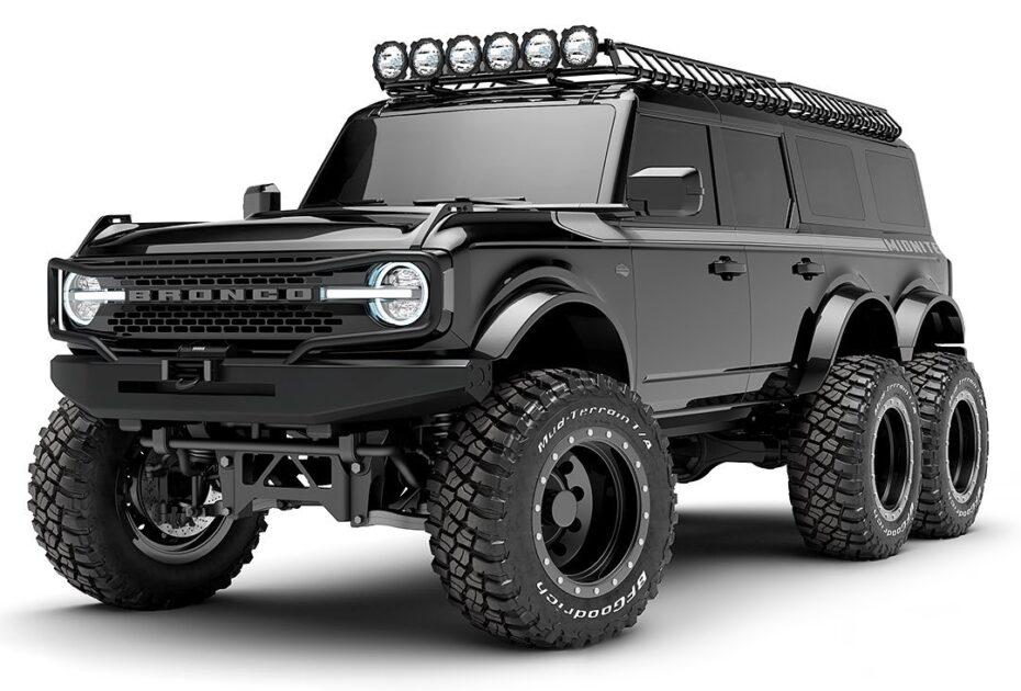 El Ford Bronco tendrá una versión 6×6 y será sencillamente brutal