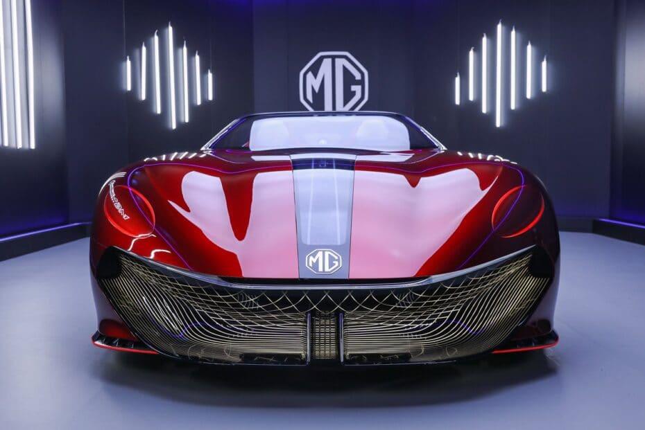 El MG Cyberster da la cara y es un concept espectacular