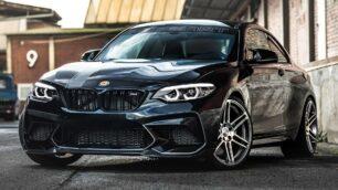 Este BMW M2 Competition no tiene nada de lo que avergonzarse ante un M4