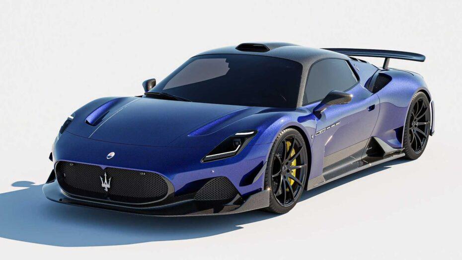 Más fibra de carbono para el Maserati MC20 ¿No debería realmente salir así de fábrica?