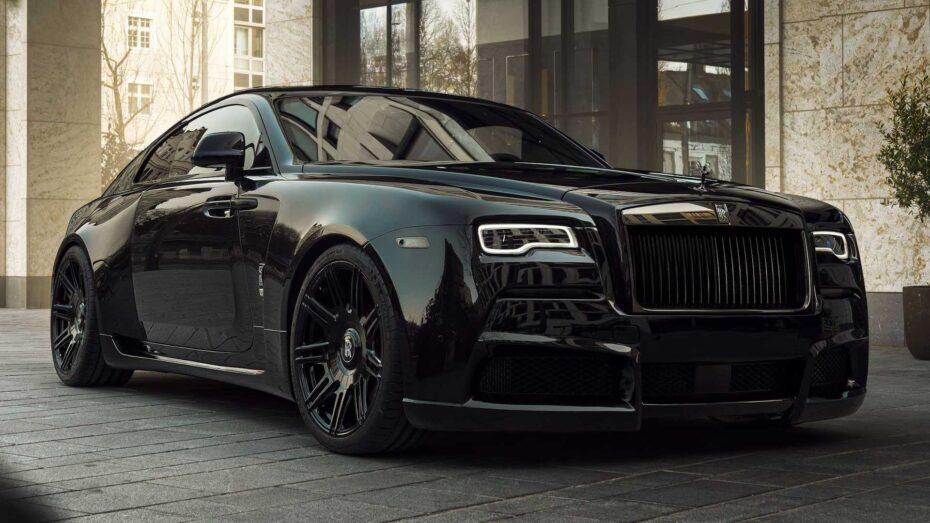Si Batman tuviera un Rolls-Royce Wraith sería tan siniestro y poderoso como este