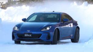 [Vídeo] Así se desenvuelve el nuevo Subaru BRZ sobre la nieve: tan dócil como divertido