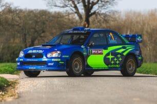 Este Subaru Impreza S10 WRC de Peter Solberg busca un nuevo garaje