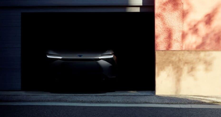 Primera imagen del SUV eléctrico de Toyota y Subaru: lo conoceremos el 19 de Abril