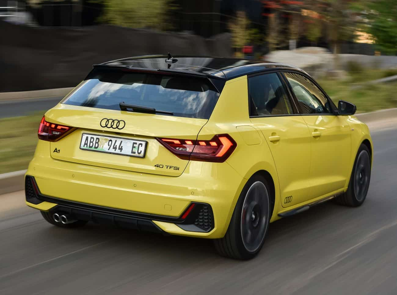 Audi A1 trasera