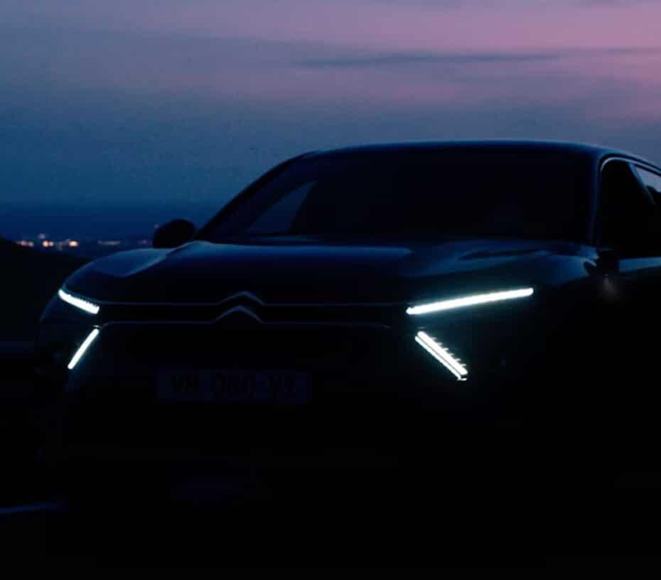 Citroën prepara un nuevo modelo para el 12 de Abril: ¿un C5 «SUV coupé»?