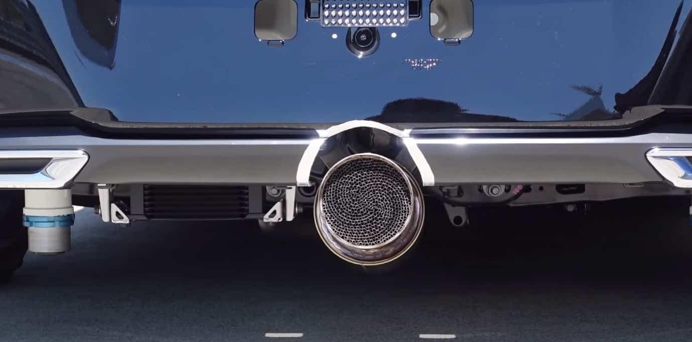 Motor de hidrógeno de Toyota