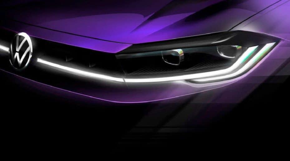 El restyling del Volkswagen Polo ya tiene fecha y primera imagen oficial