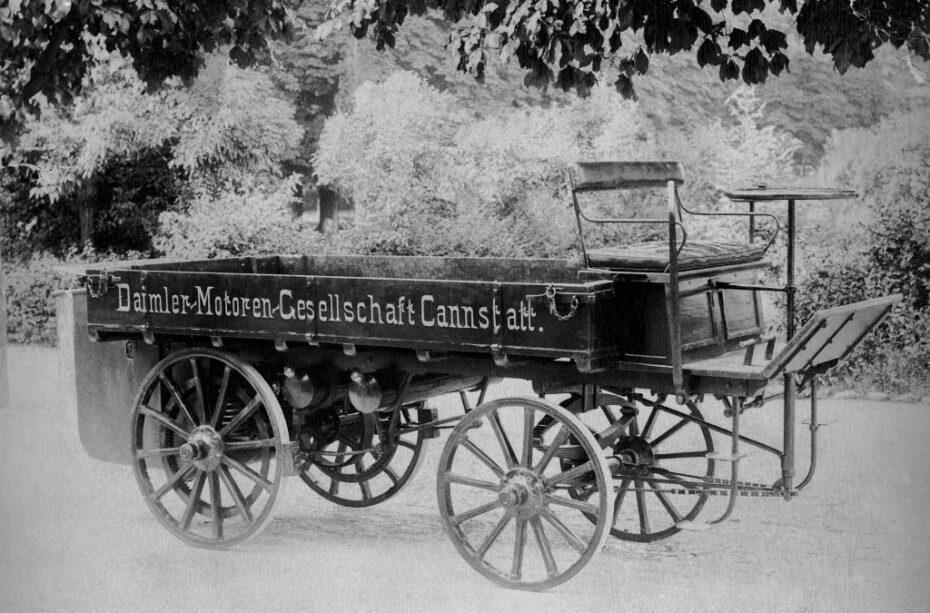 Daimler dice haber sido el fabricante del primer camión y estas son sus pruebas