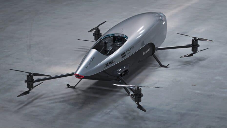 El AIRSPEEDER Mk3 es más potente que un Audi SQ7 y más ágil que un Fórmula1