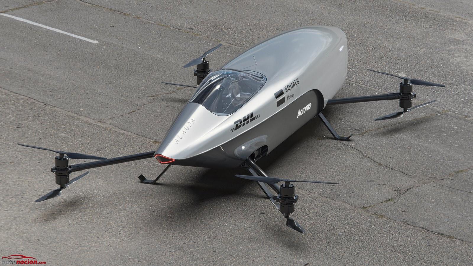 octocóptero de competición