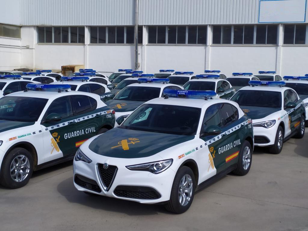 Alfa Romeo Stelvio de Guardia Civil