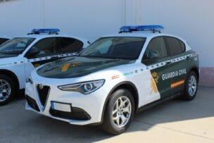 Así son los 62 nuevos Alfa Romeo Stelvio de la Guardia Civil: gasolina de 200 CV y Q4
