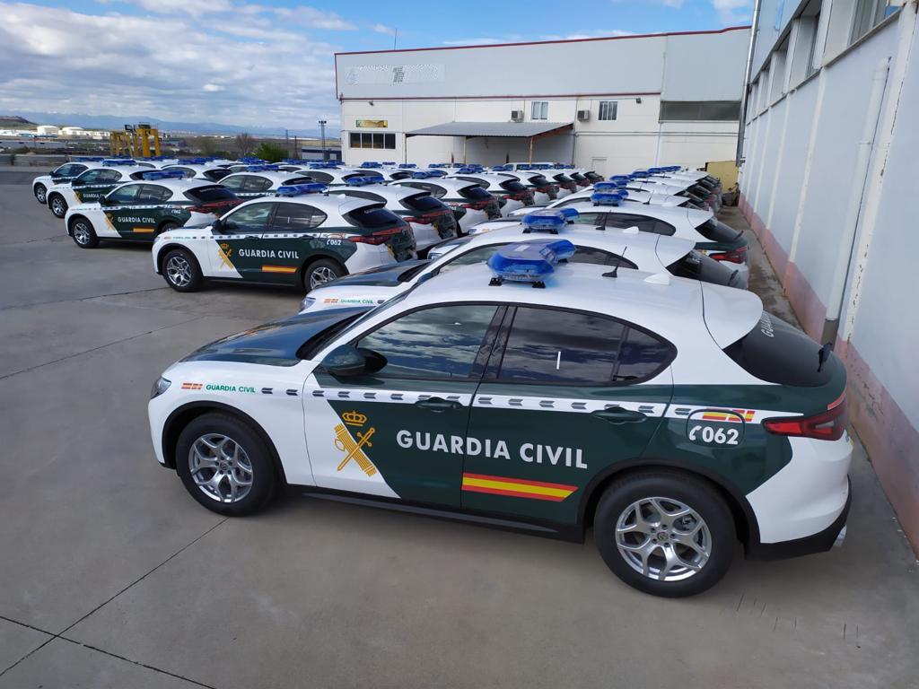 Stelvio de Guardia Civil