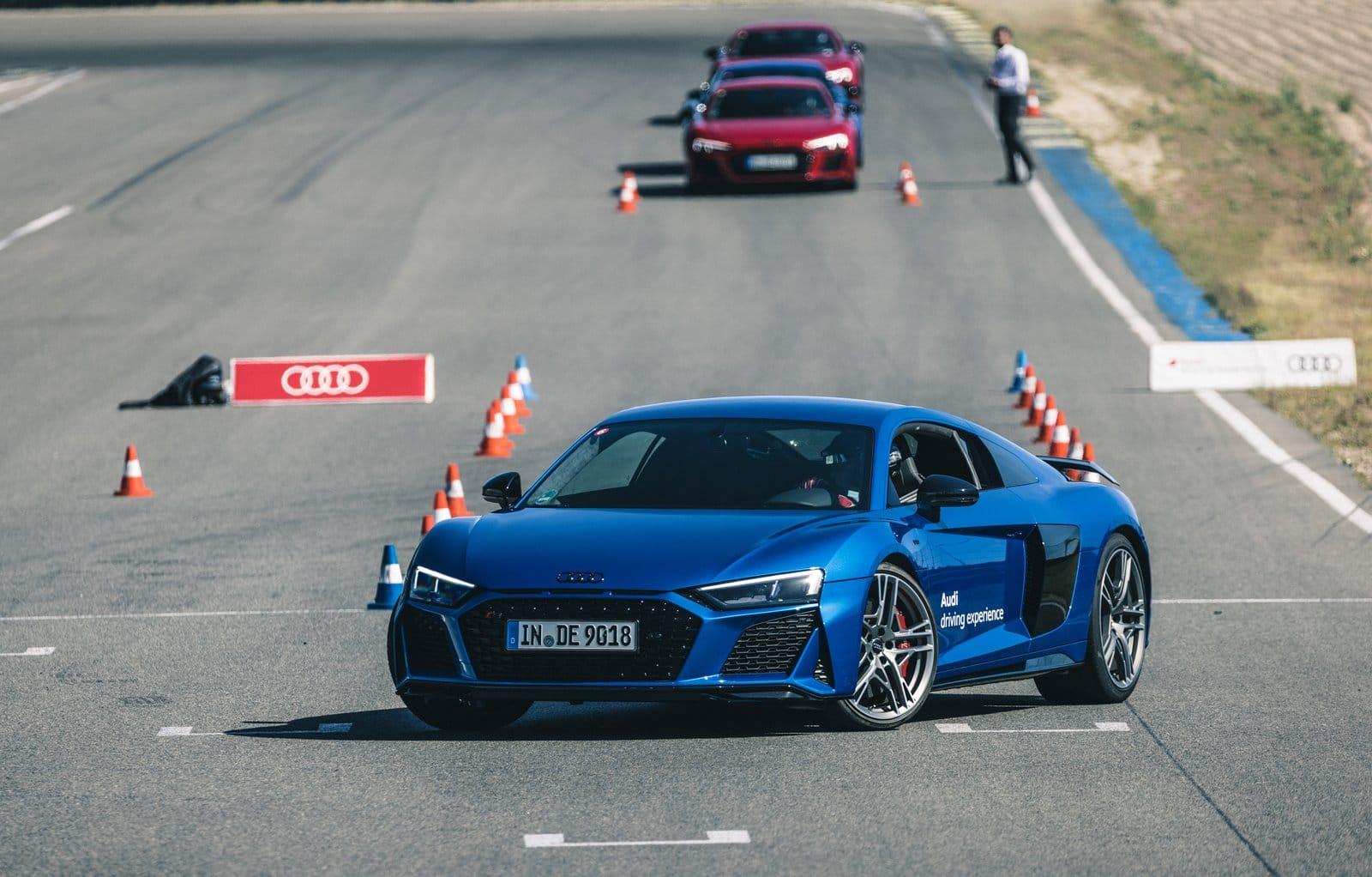 Conduce los mejores deportivos en la Audi driving experience 2021