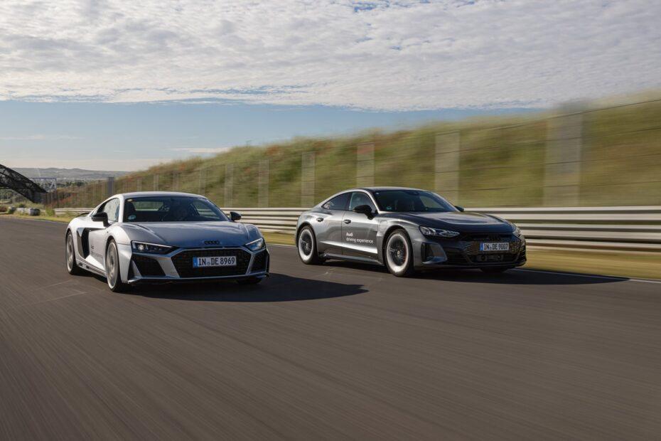 Llega la Audi driving experience 2021: este año puedes probar los R8 V10 y RS e-tron GT