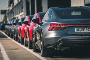 El RS e-tron GT, gran protagonista en la Audi driving experience 2021