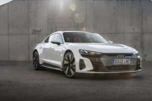 Primera prueba Audi e-tron GT y RS e-tron GT: