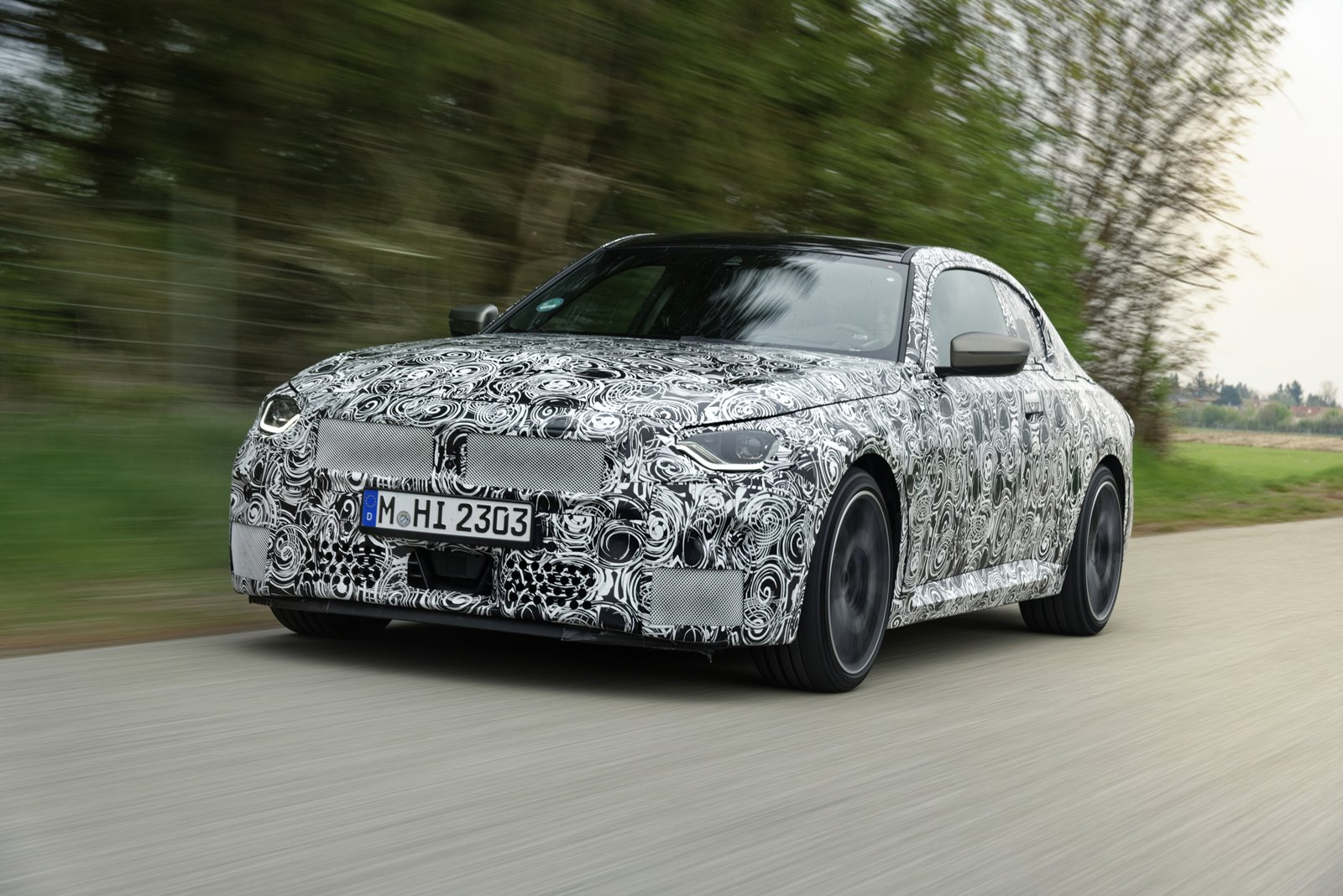 Nuevo BMW Serie 2 Coupé frontal