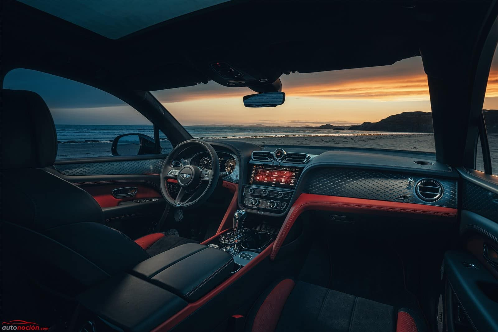 Bentley Bentayga S interior