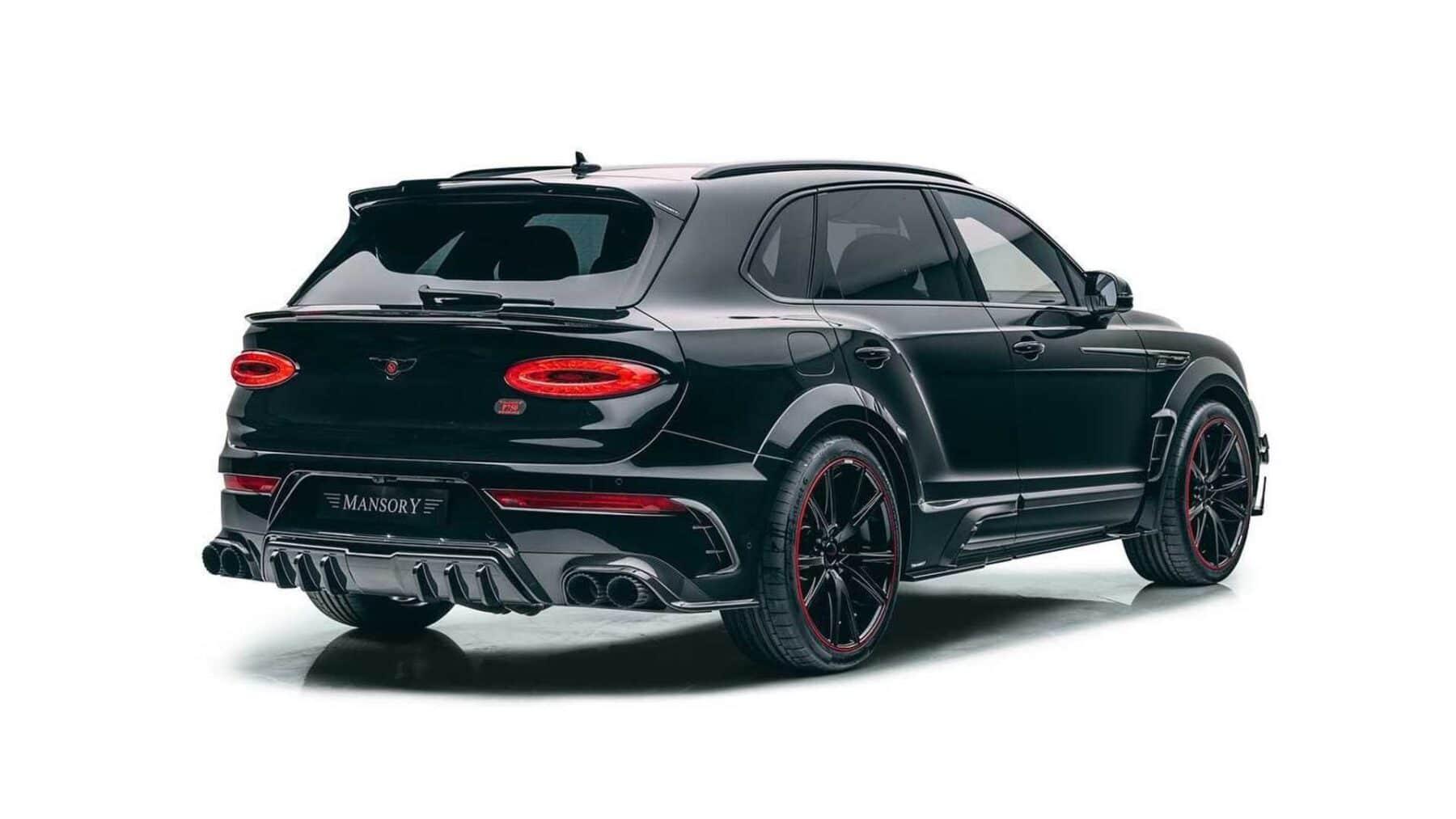 Zaga Bentley Bentayga de Mansory
