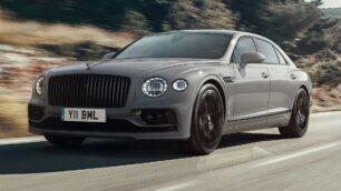 El Bentley Flying Spur se actualiza ligeramente: más silencioso y completo de serie